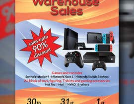 mousumiaktercit tarafından Design a Flyer for Video Games Warehouse Sales. -- 2 için no 66