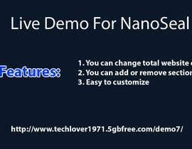 #26 for NanoSeal Website af Techlover1952