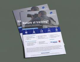 #22 cho Flyer for our Personal Field Security Training bởi meenastudio