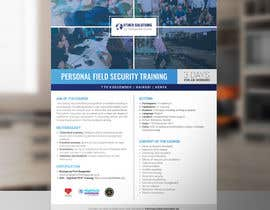 #2 cho Flyer for our Personal Field Security Training bởi arslanizaya