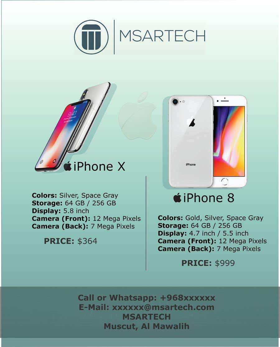 Entry 24 By Jinnuraien For Advertisement Banner For Iphone X