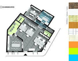 #44 för design office floor plan av pabloignacioafd