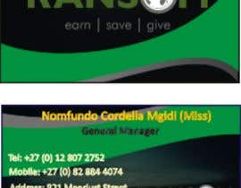 Nro 6 kilpailuun Design some business cards and Stationery(letterhead and powerpoint design) for non-profit company #151117 käyttäjältä timakoncept
