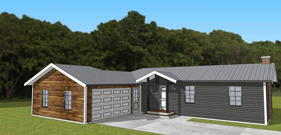 Entry #14 by AICStudio for 2D or 3D Drafting/Design Ideas ... on ranch home remodeling ideas, raised ranch entryway ideas, outdoor stairs design ideas, mobile home entryway ideas, raised ranch exterior ideas, ranch house front design ideas, ceiling lighting design ideas, ranch home porch ideas, ranch home exterior color ideas, raised ranch interior paint ideas,
