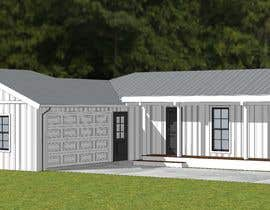 #16 dla 2D or 3D Drafting/Design Ideas for front of residential ranch house przez AICStudio