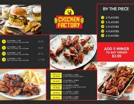 #25 untuk Design a new menu for my chicken shop. oleh evanpv