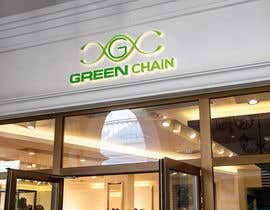 #162 for Green Chain Logo Design! af osthirbalok