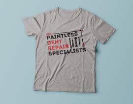 Exer1976 tarafından Design a T-Shirt for an Dent Repair Company için no 30