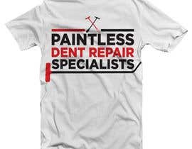 eddyleandro tarafından Design a T-Shirt for an Dent Repair Company için no 42
