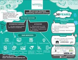 #27 pentru Design a 1 Sheet Marketing Flyer to Promote Our Business Services de către mukokojelissa