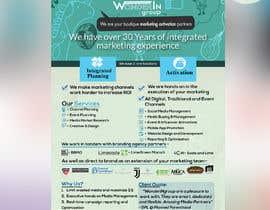 #7 pentru Design a 1 Sheet Marketing Flyer to Promote Our Business Services de către rakibhasan370