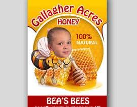 Nro 9 kilpailuun Design a Label for a Jar of Honey - Today! -- 2 käyttäjältä maidang34