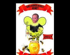 Nro 5 kilpailuun Design a Label for a Jar of Honey - Today! -- 2 käyttäjältä TH1511