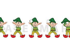 asaduzaman tarafından Friendly cartoon elf - Dancing the Nae Nae için no 7
