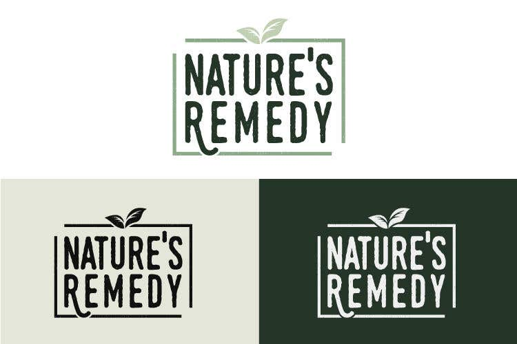 Entry #142 by vladspataroiu for Natures Remedy Logo | Freelancer