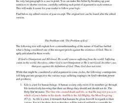 Nro 7 kilpailuun Edit and Critique a section from a book käyttäjältä stilldrift