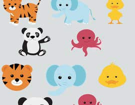 #16 for Matching set of cartoon animals af sonalfriends86