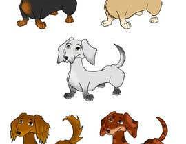 #20 for design sausage dog characters by artsbyjake