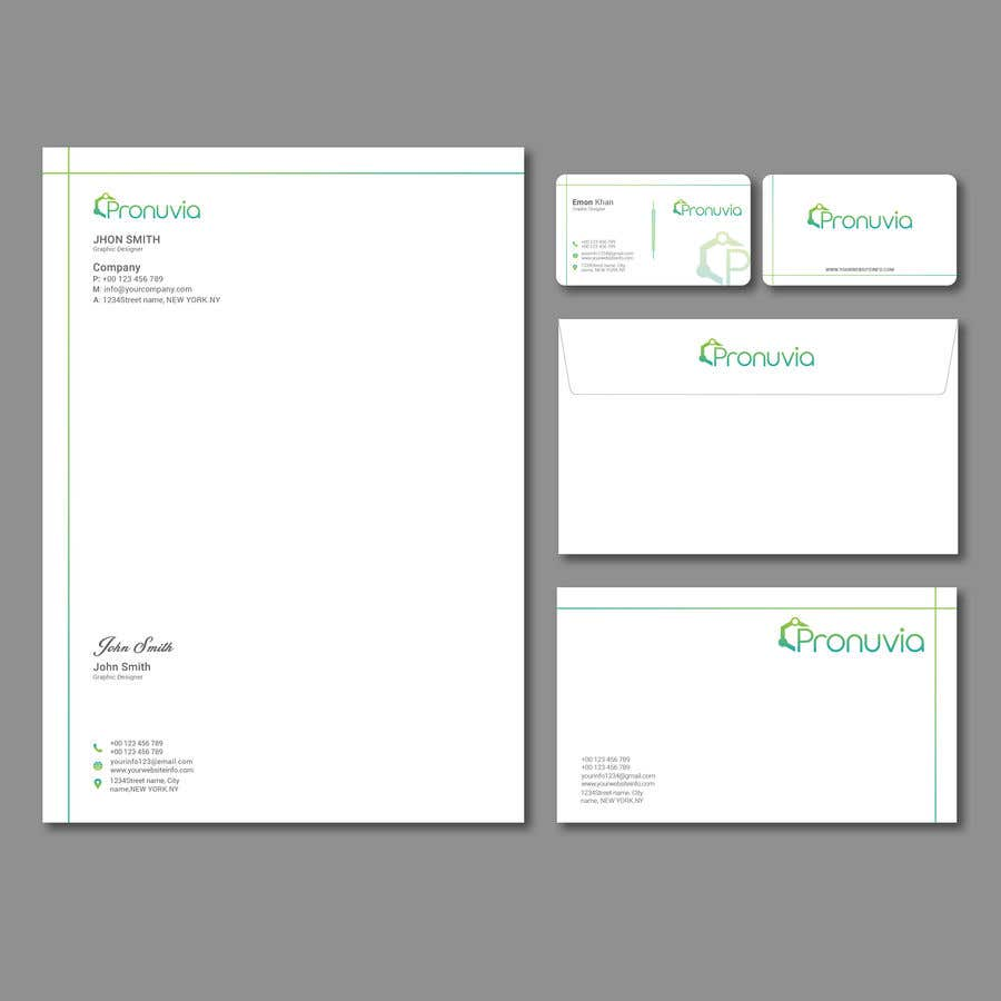 Entry #42 by emon63 for Design Business Card, Letterhead, and ...
