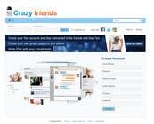 Graphic Design Contest Entry #282 for Logo Design for www.crazyfriends.com