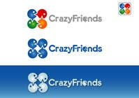 Bài tham dự #211 về Graphic Design cho cuộc thi Logo Design for www.crazyfriends.com