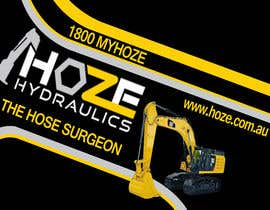 #18 untuk Trailer wrap design for Hoze Hydraulics - Design project oleh TheFaisal