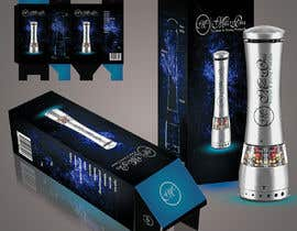 #3 for Create Print and Packaging Designs for an electric pepper mill grinder by eClickApps