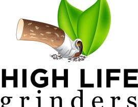 #9 untuk Logo for High Life Grinders oleh guessasb