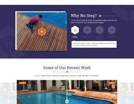 #58 cho Design a website for Nü-step Resurfacing Inc. bởi xprtdesigner