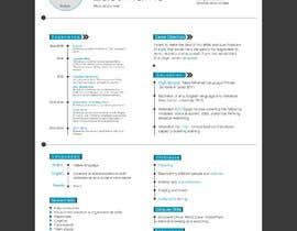 #1 dla Make a resume CV przez Ahmed97Eg