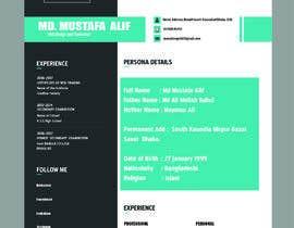 manzkingAHIL tarafından Make a resume CV için no 9