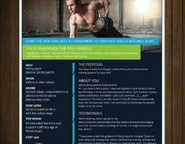 #39 for Flyer for schools fitness training by petersamajay