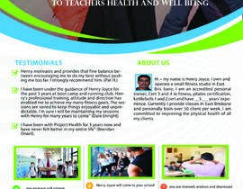 #28 for Flyer for schools fitness training by oukassa