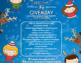 vaishaknair tarafından DESIGN FLYER FOR CHILDRENS CHRISTMAS TOY GIVEAWAY için no 18