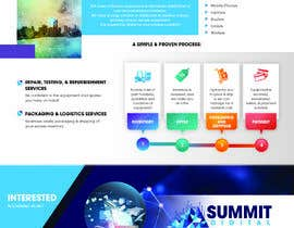 #125 for Design a one page sales brochure for Summit Digital by abdullahahmad657