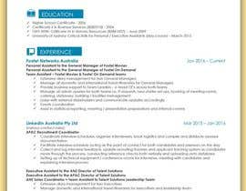 #13 για Create an updated, modernised version of my current RESUME / CV από mhandalia