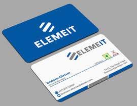 monowerhridoy tarafından Elemeit business card & letterhead için no 33