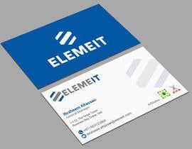 monowerhridoy tarafından Elemeit business card & letterhead için no 43