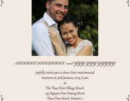 sushantpassi tarafından Design an Email Wedding invitation için no 6