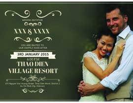 graphline tarafından Design an Email Wedding invitation için no 7