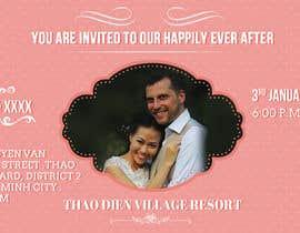 graphline tarafından Design an Email Wedding invitation için no 9