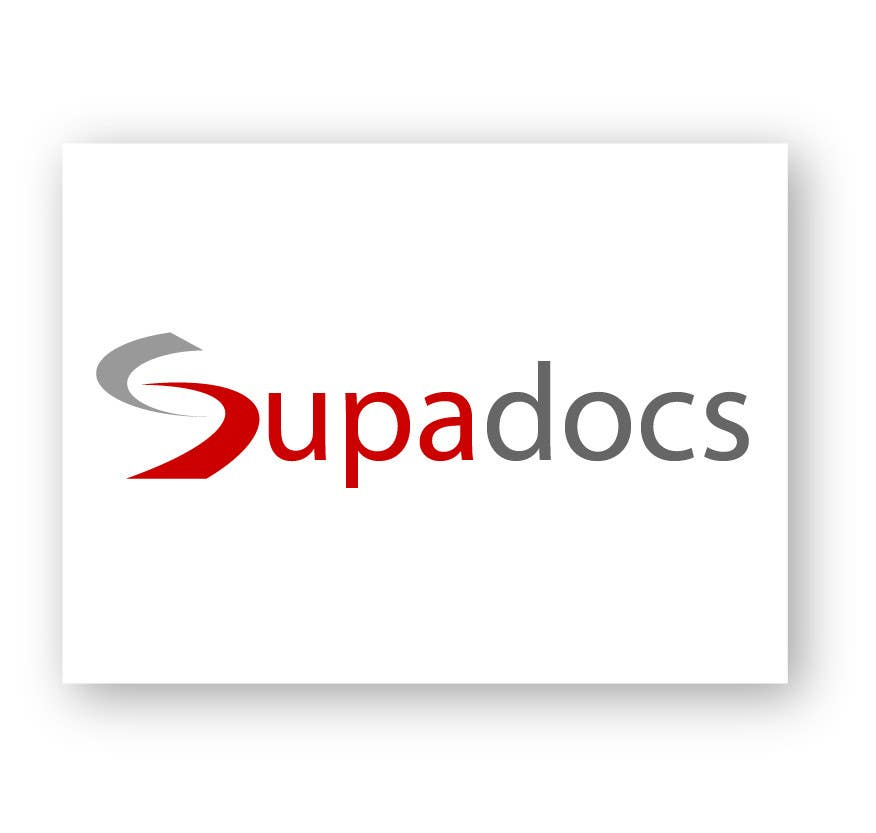 Kilpailutyö #292 kilpailussa Logo Design for Supa Docs