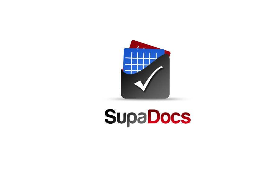 Kilpailutyö #311 kilpailussa Logo Design for Supa Docs