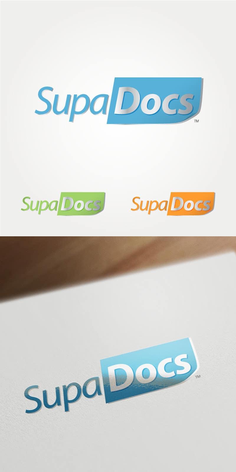 Inscrição nº 93 do Concurso para Logo Design for Supa Docs