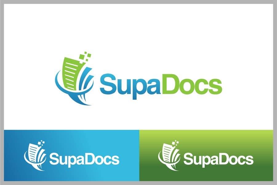 Inscrição nº 182 do Concurso para Logo Design for Supa Docs