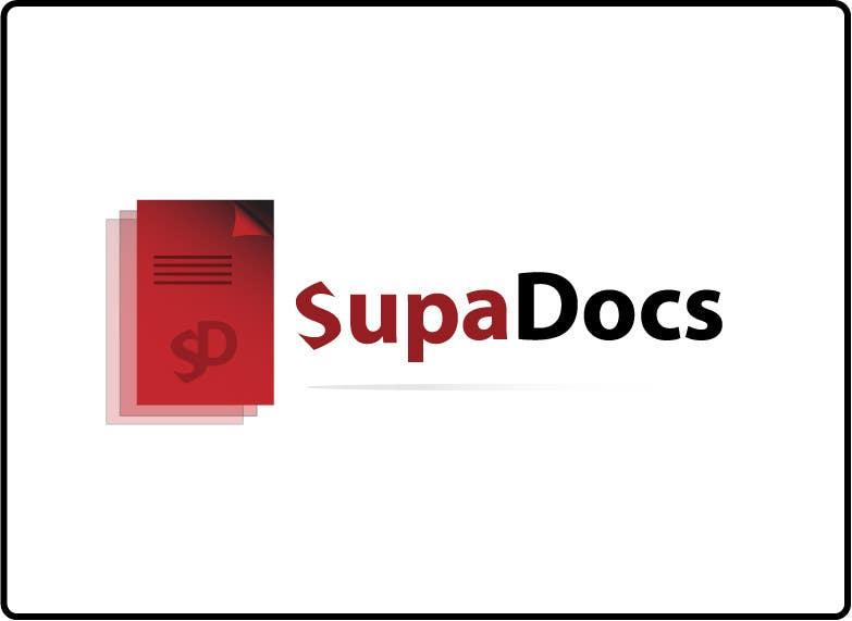 Inscrição nº 220 do Concurso para Logo Design for Supa Docs