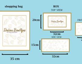 Nro 1 kilpailuun Design for shopping bag and box käyttäjältä tahsinnihan