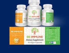 #5 cho Supplement Product Label Design - Be Immune bởi BlaBlaBD