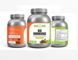 #9 cho Supplement Product Label Design - Be Immune bởi joydutt