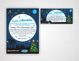 istykristanto tarafından Design 2x Flyers for Christmas Carols at Mandalay için no 32